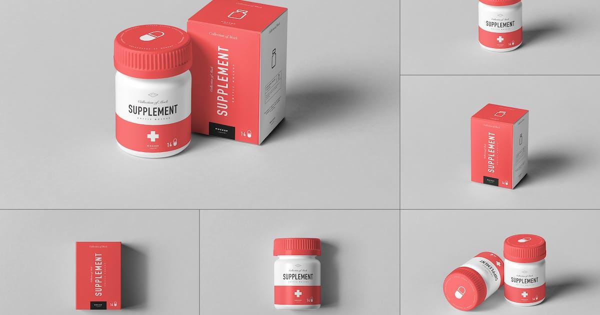 Download Supplement Jar & Box Mock-up 7 by yogurt86