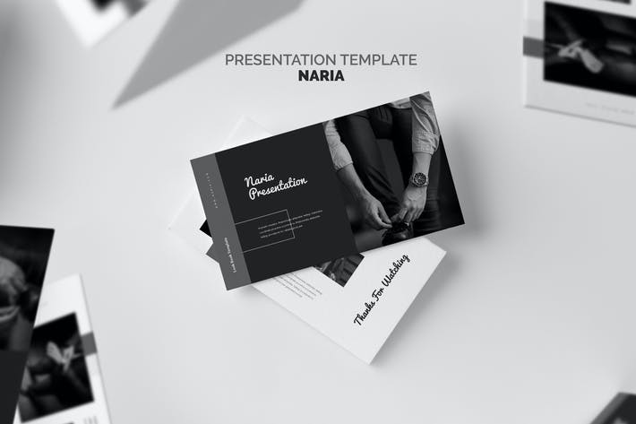 Thumbnail for Naria : Business Profile Keynote Template