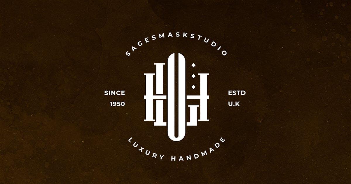 Download HLU Monogram Logo by sagesmask