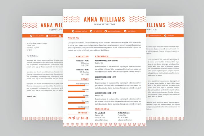 Business Director Resume Designer