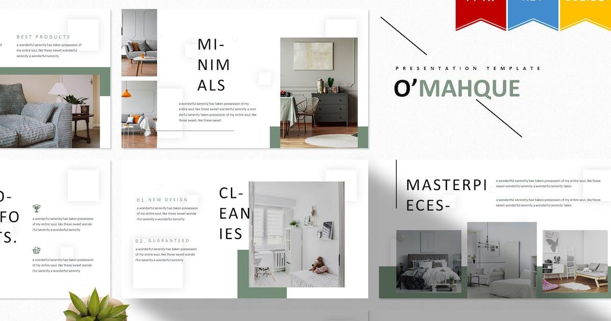 Download O'mahque | Powerpoint, Keynote, Googleslide by Vunira