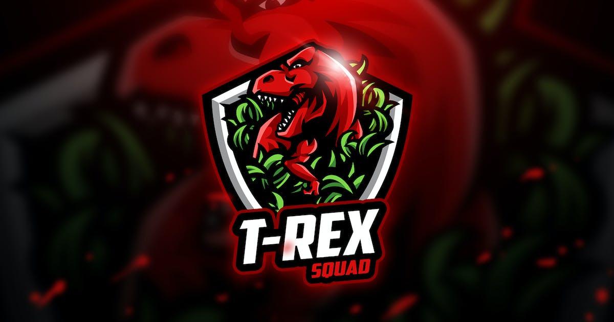 Download T- Rex - Mascot & Esport Logo by aqrstudio