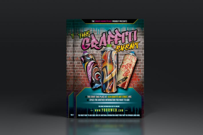 Thumbnail for Graffiti Flyer or Poster