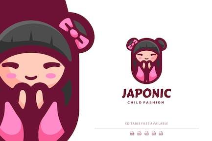 Japan Cartoon Logo