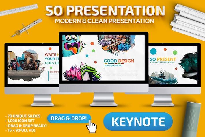 Cover Image For So Keynote Presentation