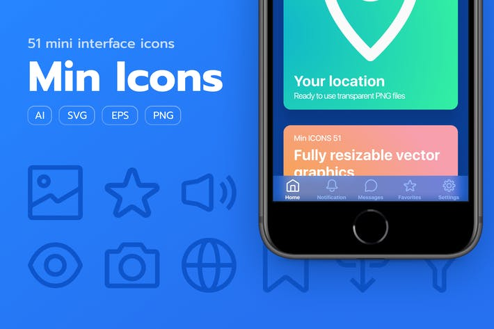 Thumbnail for Min Icons 51 Pack