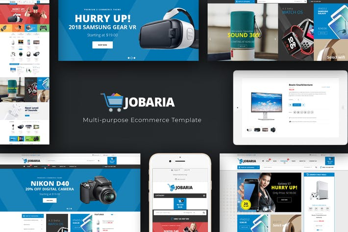 Thumbnail for Jobaria - Technology   WordPress Theme