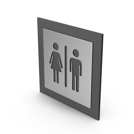 Signos de género de baño