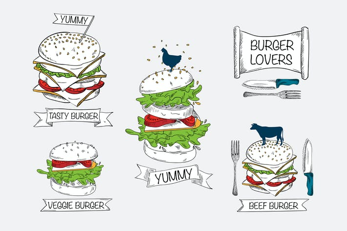 Thumbnail for Burgers Badges