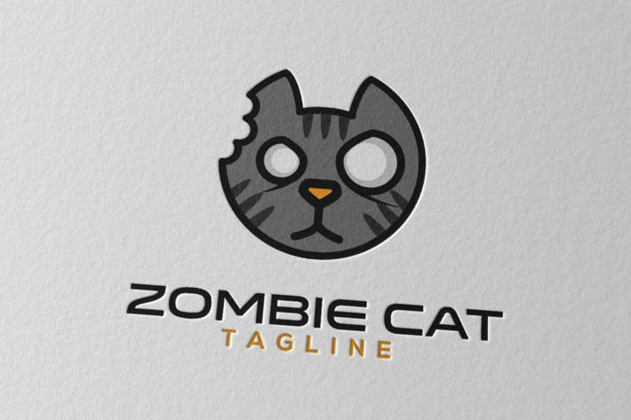 Download 35 zombie graphic templates envato elements thumbnail for zombie cat logo toneelgroepblik Gallery