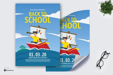 Back to School - Creative Poster GR