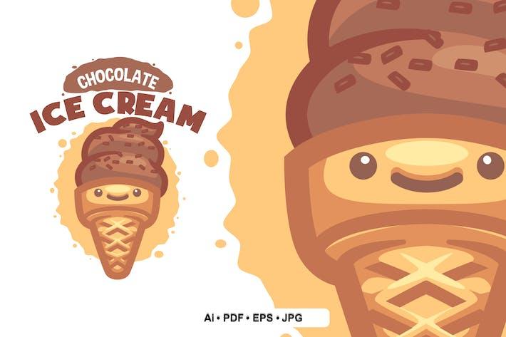 Thumbnail for SchokoladeneisLogo Vorlage für Ihr Unternehmen