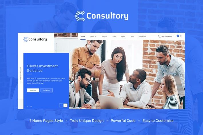 Thumbnail for Consultory | Multiuse Business, Finance, Industria