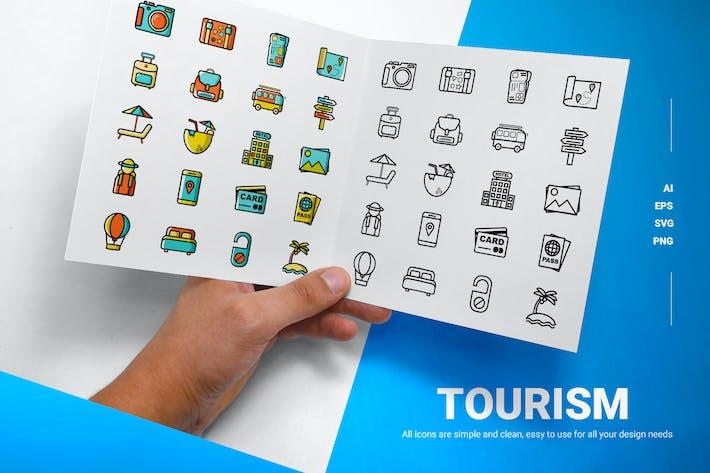 Thumbnail for Tourism - Icons