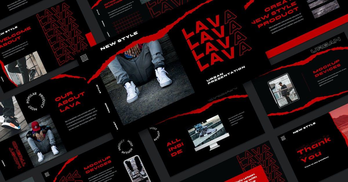 Download Lava Keynote Template by axelartstudio