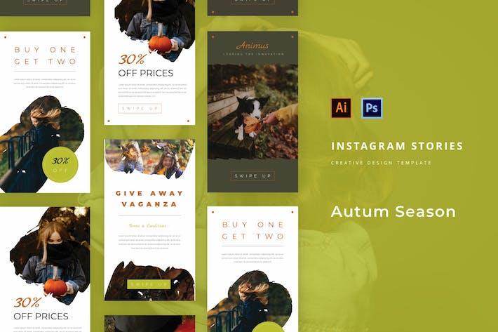 Autumn Season Instagram Story