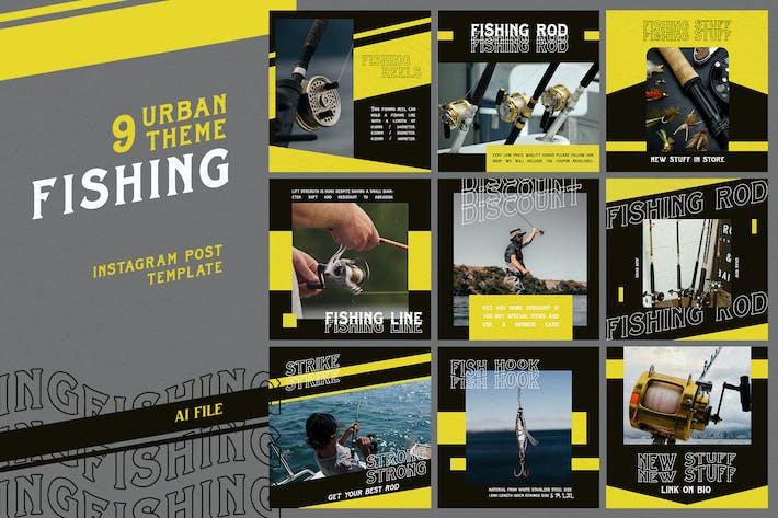 Thumbnail for Urban Theme - Fishing Instagram Post