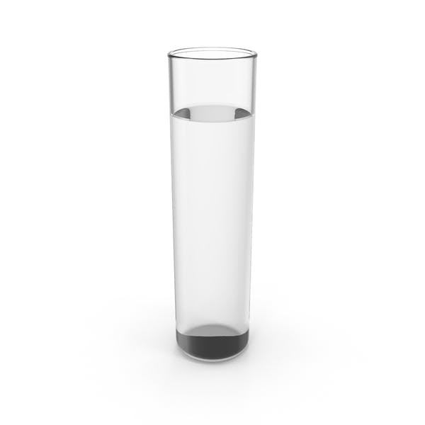 Chemistry Flask with Water
