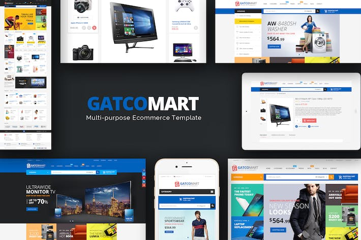 Thumbnail for GatcoMart - Responsive Prestashop Theme