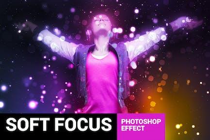 Brightum - Soft Focus Photoshop Action