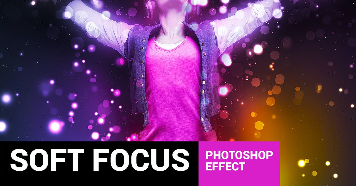 Brightum - Soft Focus Photoshop Action by profactions