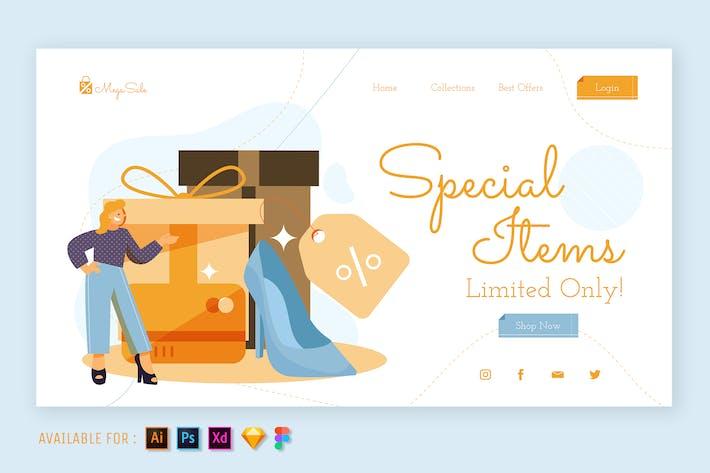 Special Item - Web Illustration