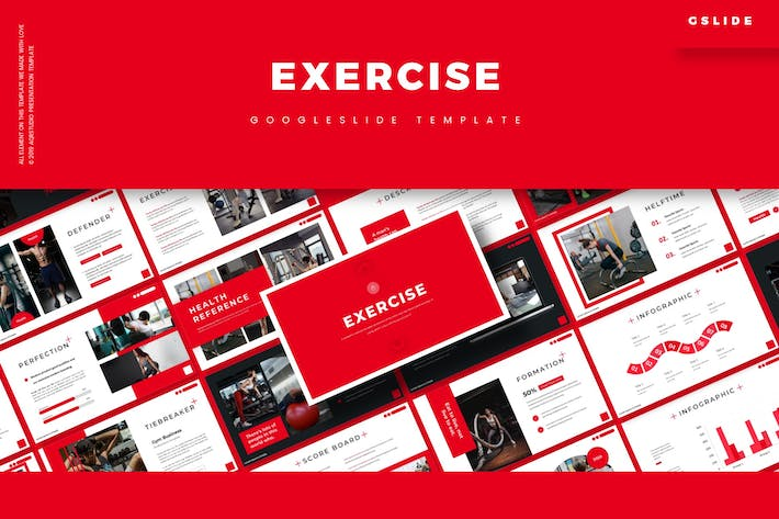 Thumbnail for Exercise - Google Slides Template