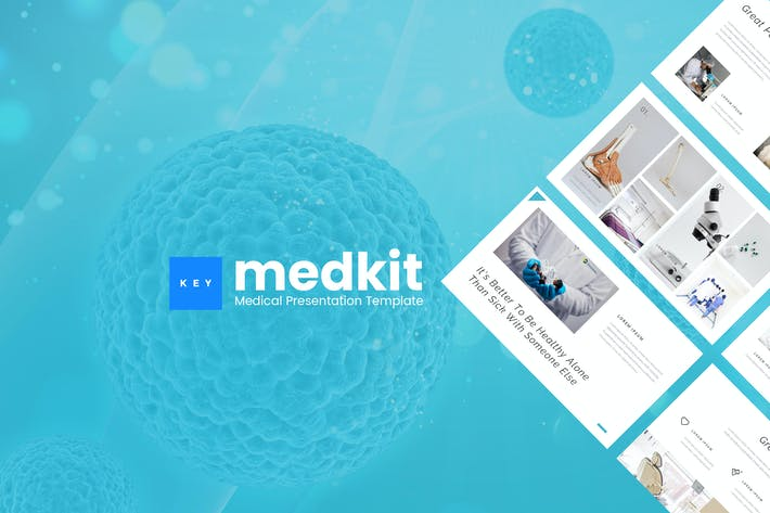 Thumbnail for Medkit - Medical Keynote Presentation Template