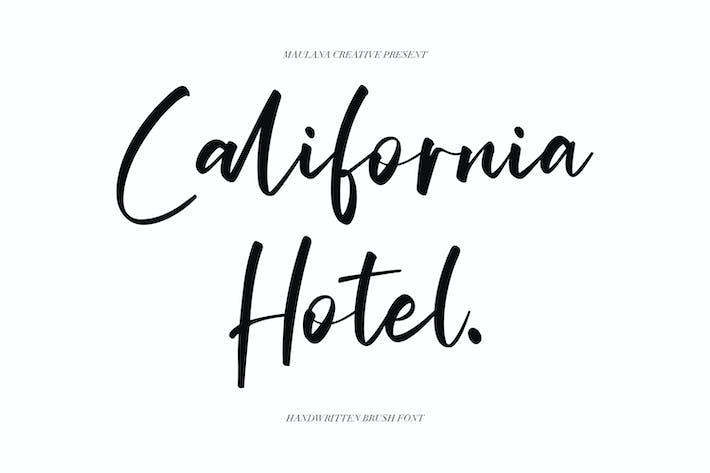 Thumbnail for California Hotel - Handwritten Brush Font