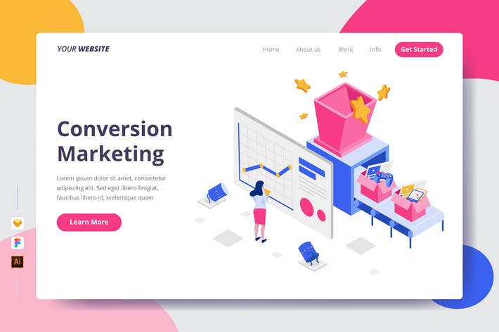 Conversion Marketing - Landing Page
