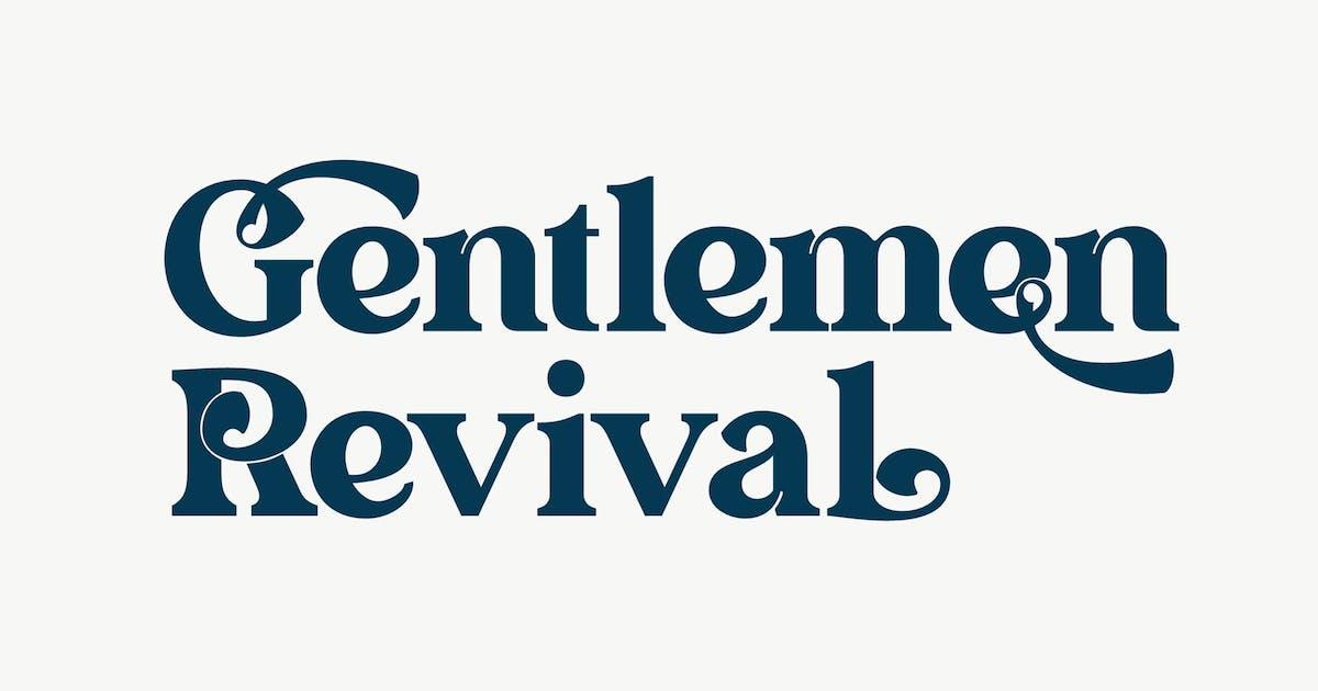 Download Gentlemen Revival by nurrontype