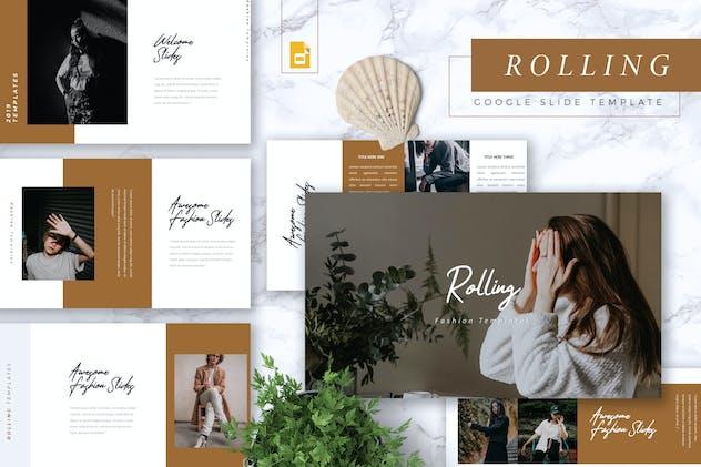 ROLLING - Fashion Google Slides Template