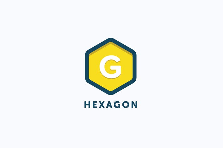 Thumbnail for Hexagon Logo Template
