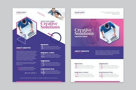 Flyer — KreativAgentur