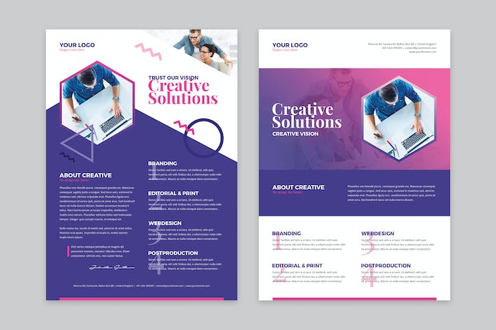 Thumbnail for Flyer – Creative Agency
