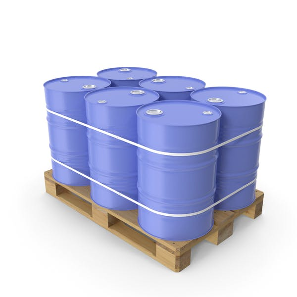 Thumbnail for Pallet with Barrels