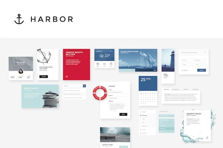 Thumbnail for Набор пользовательского интерфейса для гавани