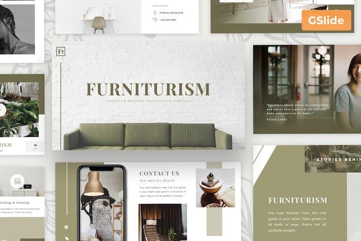 Furniturism - Шаблон презентации слайдов Google