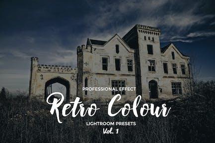 Ретро Цвет Lightroom Vol. 1