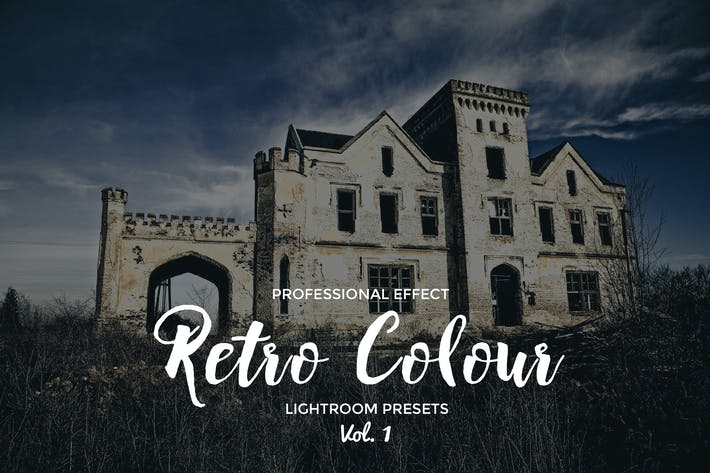 Thumbnail for Retro Colour Lightroom Vol. 1
