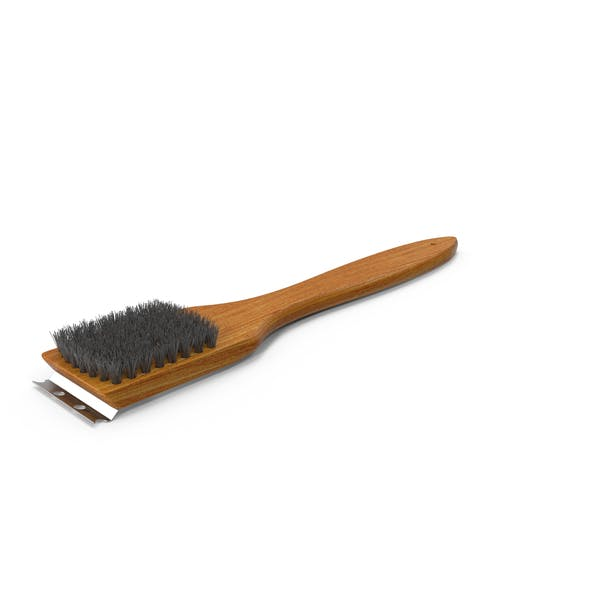 Thumbnail for Wood Handled Grill Brush