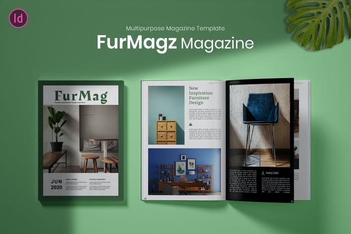Thumbnail for Furmagz - Magazine Template