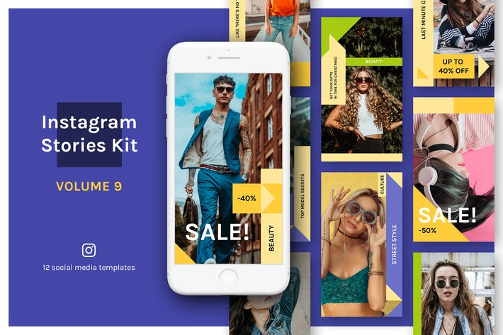 Thumbnail for Instagram Stories Kit (Vol.9)