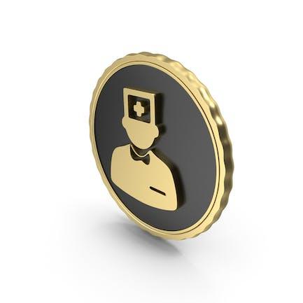 Logo Doctor Nurse Gold