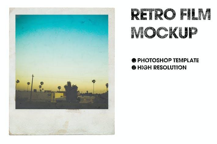 Thumbnail for Retro Film Mockup
