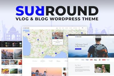 Surround Vlog & Blog WordPress Theme