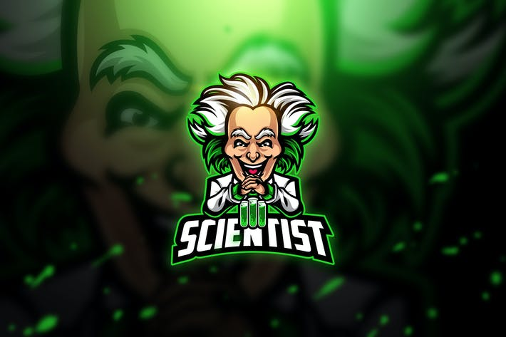 Thumbnail for Scientist 2 - Mascot & Esport Logo