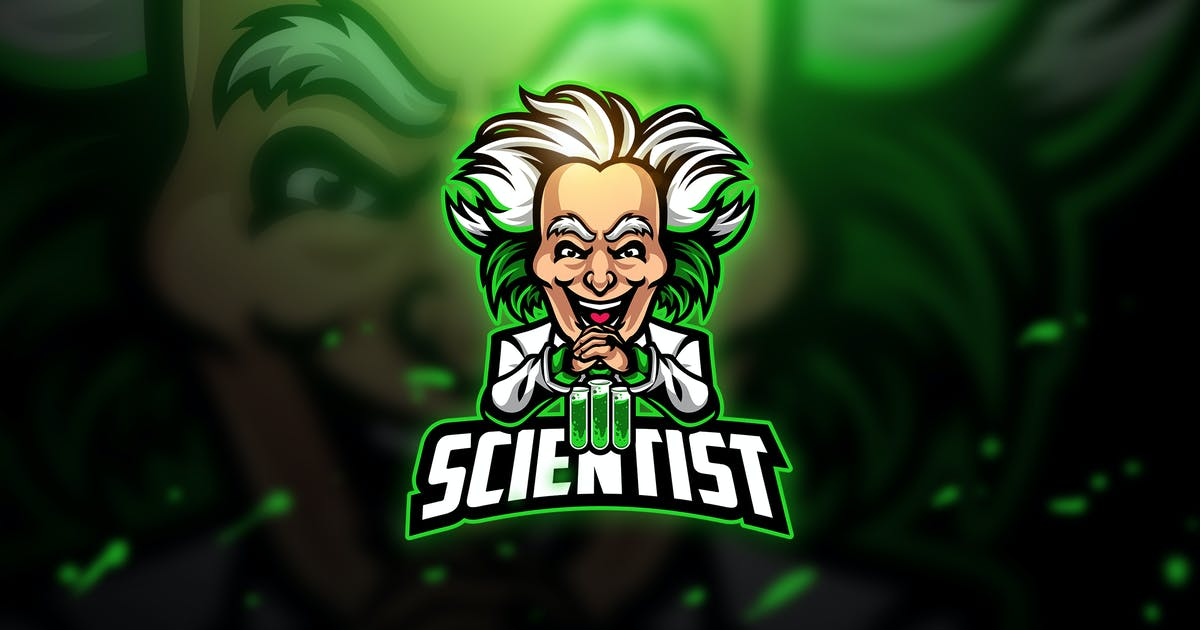 Download Scientist 2 - Mascot & Esport Logo by aqrstudio
