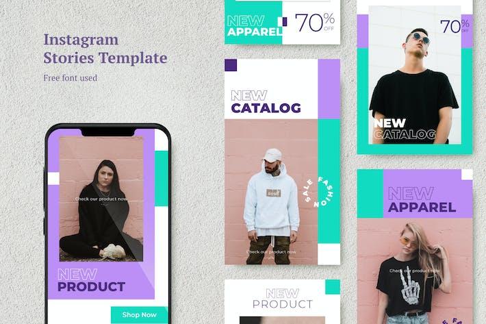 Thumbnail for AWR Fashion Instagram Stories Vorlage 1