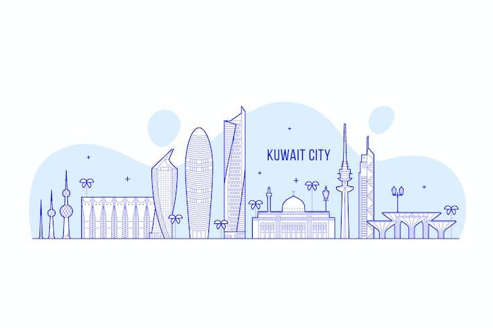 Thumbnail for Kuwait city skyline, Kuwait